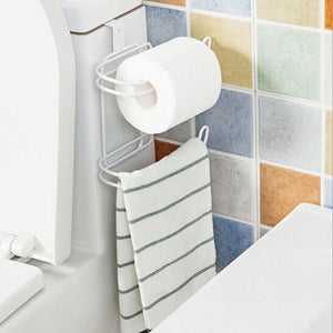 Creative New Style Roll Paper Towel Holders Bathroom Accessories Multifunctional Rack Kichen Tool