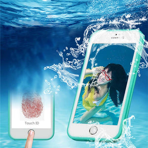Outdoor Sports Shockproof Hybrid Rubber Daily Waterproof Water Resistant TPU Phone Case Cover For iPhone 5/6/6s/6p/7/7p/SE Samsung S6 Edge plus/S7