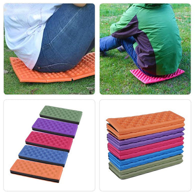 New Folding Outdoor Camping Mat Seat Camping Folding Mat Picnic Pad Waterproof Moistureproof Cushion