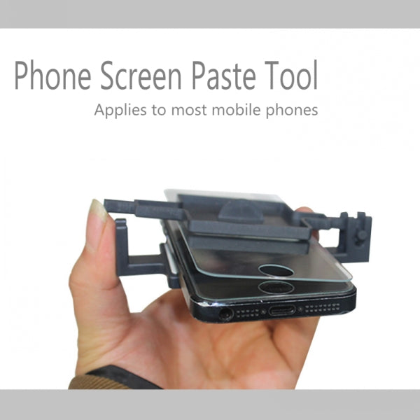 Creative and Practical Tools Tempered Glass Screen Protector Paste Tool for All Models Phones