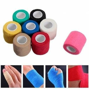 5cm*4.5m Sports Outdoor Exercise Soccer Basketball Elastic Bandage Multifunction Non-woven Bandage Finger Wrist Ankle