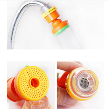 1PCS Rotatable Magnetic Activated Carbon Tap Water Water Purifier Kitchen Faucet Water Filter Purifier Anti-splash Color Random