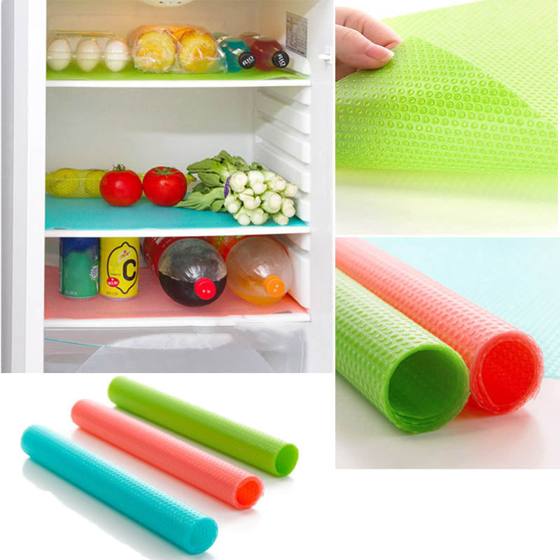 Kitchen Gadgets 1 Pc Refrigerator Pad Water Absorbing Anti Bacterial Anti Fouling EVA Pad