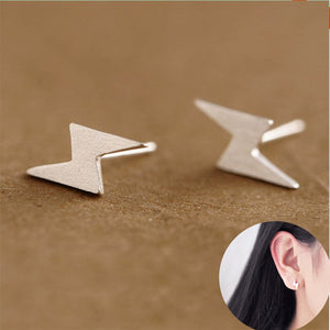 Creative Lightning Stud Earrings For Women Fashion Punk Studs Earings Geometric Earrings Jewelry