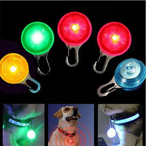 New Fashion Pet Dog Cat Puppy LED Flashing Collar Safety Night Light Pendant High Quality