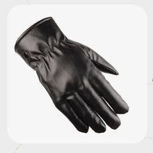 Touch Screen Winter Leather Driving Motorcycle Biker Full Finger Warm Gloves Size Random