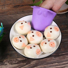 Silicone Heat-resistant Hippo Shape Kitchen Glove Tool Baking BBQ Protect Tool