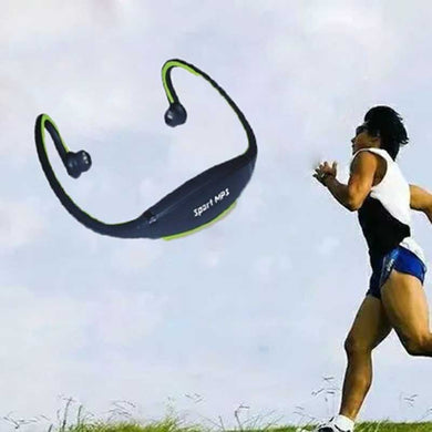 Wireless Sports MP3 Multimedia Stereo Plug-in Card Head Wear Music Running Earphone