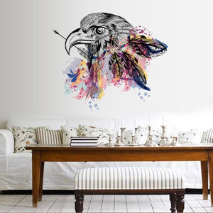Creative Eagle Stickers Room Stickers Home Decor Floor Stickers Removable PVC Wall Decor