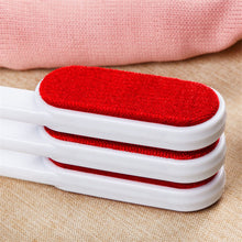 Practical Lint Dust Hair Remover Double Faced Anti-static Cloth Dry Cleaning Brush