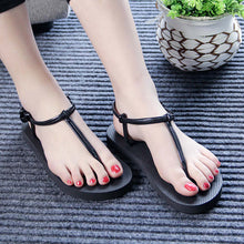 2017 New Fashion Women Sandals Roman Ladies Flip Flops Woman Shoes Comfort Beach Summer Flat Sandals