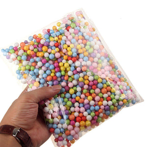 1 Pack/Lot Multi Color Foam Ball DIY Craft Balls Wedding Party Decoration Large Size(Dia of 0.2cm)