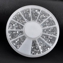 3D Nail Art Rhinestones Glitters Acrylic Tips Decoration Manicure Wheel 1.5mm