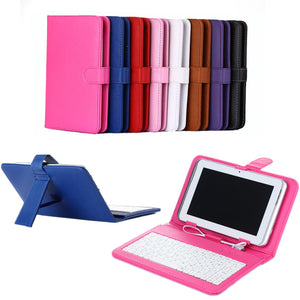 "10.1"" Universal Bracket Protective Sleeve Tablet Computer Keyboard Holder"