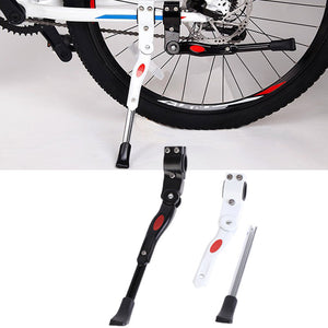 New Adjustable Mountain Bike Parking Racks Cycling Side Rear Kick Foot Support