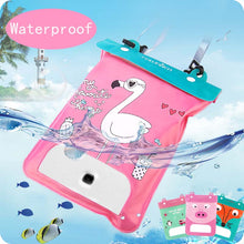 Large Capacity PVC Waterproof Bag Cell Phone Storage Bag for Diving Swimming
