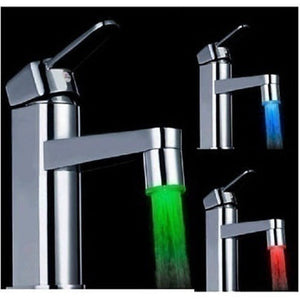 3 Color Sensor Led Faucet Light for Water Tap