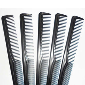 6pcs Hair Comb Plastic Barbers Cutting Combs Hair Care & Styling Tools