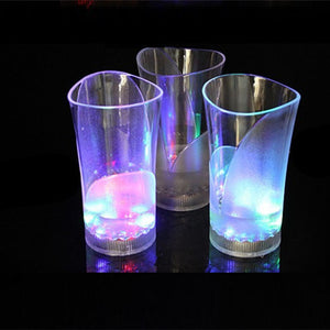 Luminous Cup LED Cup Induction Light Cup Vase Cup Creative Cup Lovers Creative Valentine'S Day Gift