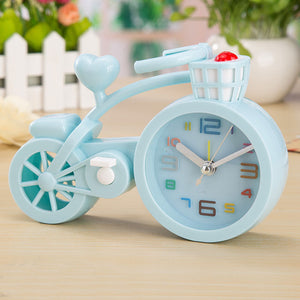 Creative New Thickening Candy Color Bicycle Alarm Clock Student Gift Birthday Crafts