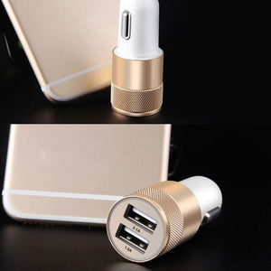 Car-Charger Dual USB 2.0 OUHOE Car Charger Quick Charge Phone Chargers For Samsung Galaxy S7/ xiaomi/ iPhone 6/7