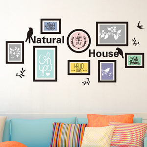 Fashion Home Decor Removable Waterproof PVC Photo Wall Vinyl Art DIY Decal Wall Sticker