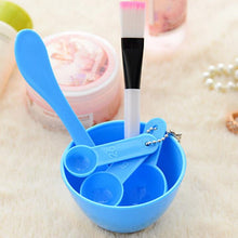 New Fashion 4IN1 Beauty Makeup Tools Mask Bowl / Bar / Brush / Measuring Spoon