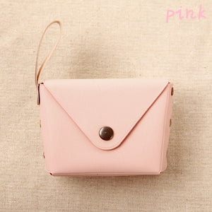 New Cute Candy Color Mini Coin Purse Package Key Bag Pocket Wallet