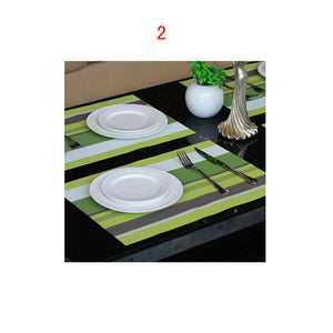 Rectangle Table Place Mat Insulation Mat Tray Bowl Cup Pad - 11 Colors
