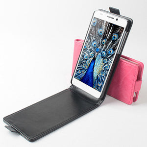 Flip PU Leather Magnetic Protective Case for Huawei Honor6 Smartphone - 3 Colors