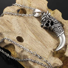 Cool Punk Men Jewelry 316L Stainless Steel Pendant Necklace