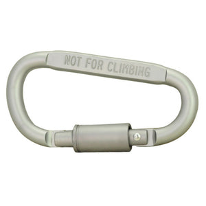 1Pcs High Quality Outdoor Carabiner Screw-Lock Hook Buckle Hanging Padlock Keychain