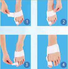 Big Toe Separators Alignment Bunion 24 Hours Splint Straightener Slim Hallux Valgus Foot Pain Relief