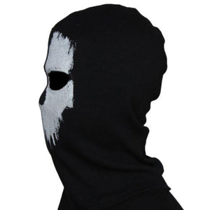 Ghost Mask Skull Balaclava Paintball Outdoor Ski Army CS War Game Military Tactical Hat Full Face Mask