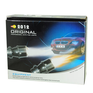 High Quality 12V 55W Halogen Lamp Car  Fog Light Yellow Light