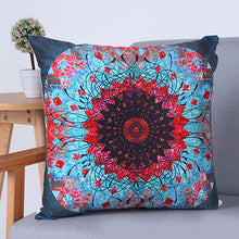 Super Soft National Style Digtal Printing Throw Pillowcase Pillow Cover Spandex Plush Cloth Sofa Cushion Cover Pillowslip Home Decoration 45 * 45 cm/1