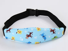 Adjustable  Baby Stroller Sleeping Fixed Belt Car Safety Seats Forehead Safety Band