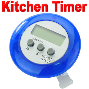 New Mini Digital LCD Kitchen Cooking Count Down Timer Alarm