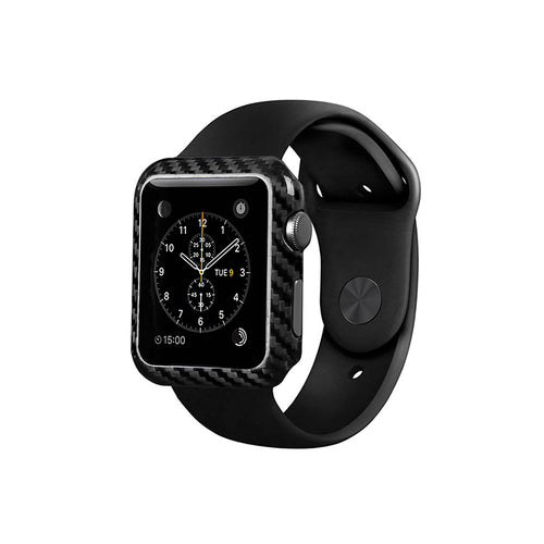 Carbon Fiber Apple Watch Case - Series 1 - Carbon Fiber Junkie