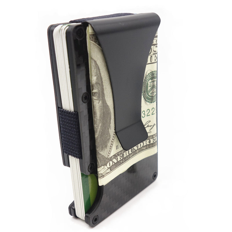 Carbon Fiber Credit Card Holder - Money Clip - Carbon Fiber Junkie