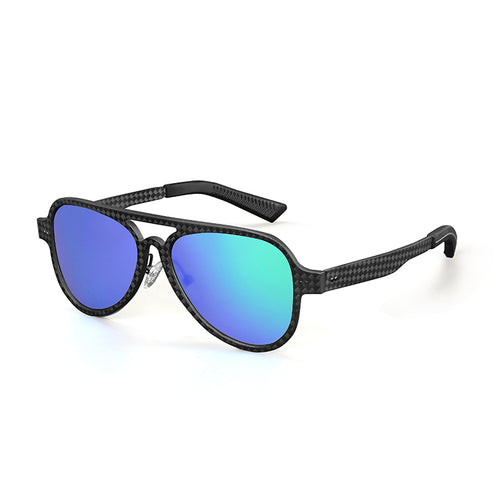 Carbon Fiber Aviator Sunglasses - Carbon Fiber Junkie