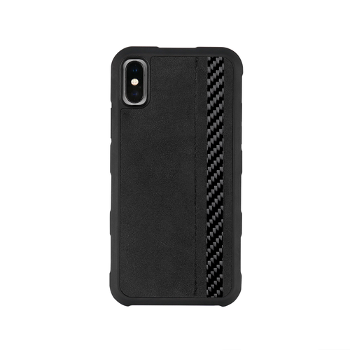iPhone X Carbon Fiber Phone Case - Alcantara - Carbon Fiber Junkie