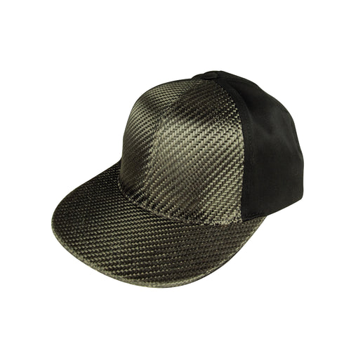 Real Carbon Fiber Hat - Cotton Back - Carbon Fiber Junkie