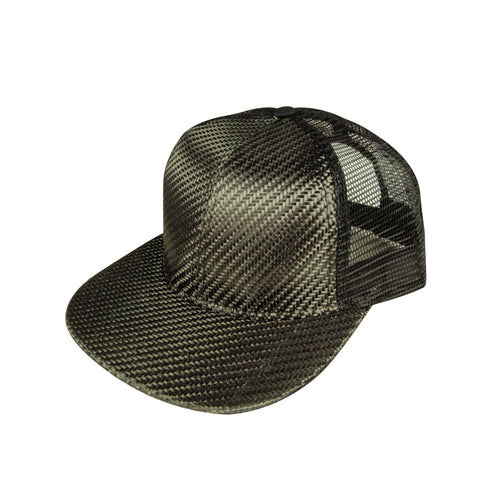 Real Carbon Fiber Hat - Mesh Back - Carbon Fiber Junkie