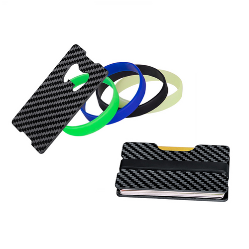 Carbon Fiber Credit Card Holder - Bottle Opener - Carbon Fiber Junkie