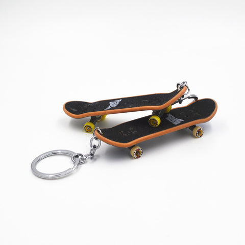 Miniature Skateboard Key Ring