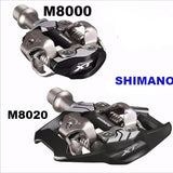 SHIMANO XT PD-M8000 & M8020  Bicycle Pedals - All about Wheels