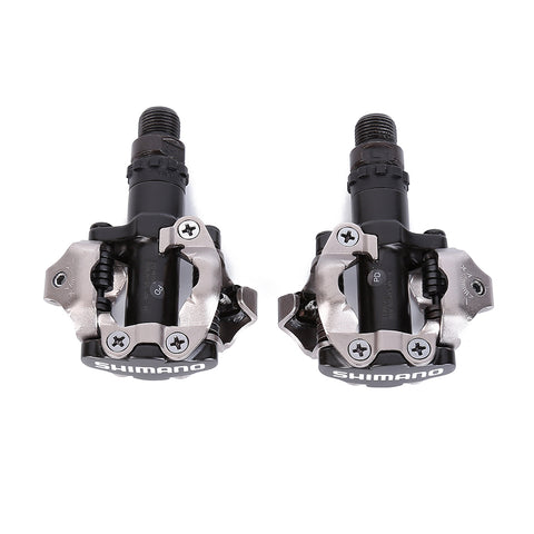 SHIMANO PD-M520 Bicycle Pedals FREE Cleats Included - All about Wheels