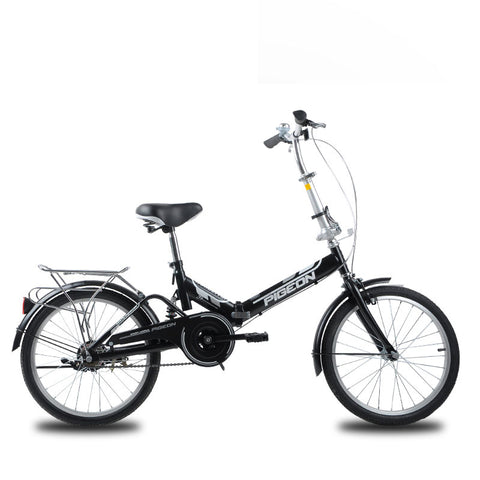 Classic 20 inch Single Speed Folding Bicycle Bicycle - All about Wheels