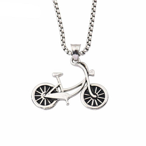 Beautifully Crafted Unisex Bicycle Pendant - All about Wheels